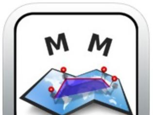 Φωτογραφία για Measure Map: AppStore free...για λίγες ώρες δωρεάν ένα διαφορετικό GPS