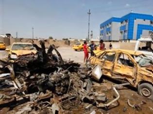 Φωτογραφία για 19 νεκροί και 50 τραυματίες από επιθέσεις με παγιδευμένα οχήματα στη Βαγδάτη