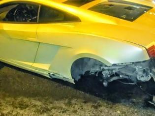 Φωτογραφία για Τροχαίο με Lamborghini αξίας 200.000 ευρώ