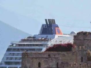 Φωτογραφία για Το κρουαζιερόπλοιο EYROPA 2 στο Ναύπλιο
