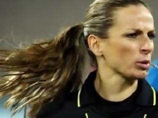 Φωτογραφία για Διάκριση για Ελληνίδα γυναίκα διαιτητή
