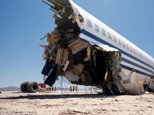 Φωτογραφία για Η συντριβή αεροσκάφους ως... πείραμα