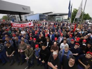 Φωτογραφία για Συνεχίζουν οι Γερμανοί τις απεργίες ζητώντας μισθολογικές αυξήσεις