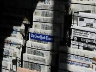 Φωτογραφία για Εφημερίδες σε κίνδυνο παντού...