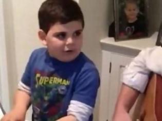 Φωτογραφία για VIDEO: Μαθήματα ζωής και μουσικής από τον μικρό Ethan!