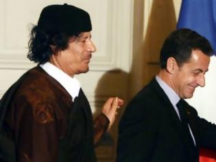 Φωτογραφία για Ο Καντάφι χρηματοδότησε το 2007 την προεκλογική εκστρατεία του Σαρκοζί