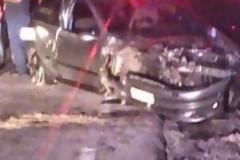 Ε.Ο Ιωαννίνων -Τρικάλων (Δρίσκος): Οδηγός έπεσε με σφοδρότητα στα βράχια και... βγήκε σώος !