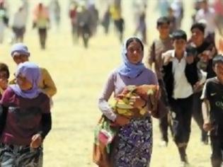 Φωτογραφία για Κούρδοι αναζητούν καταφύγιο από το ISIS στην Τουρκία