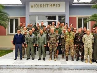 Φωτογραφία για Επίσκεψη Στελεχών Ευρωπαϊκού Στρατηγείου Λάρισας στην 110ΠΜ