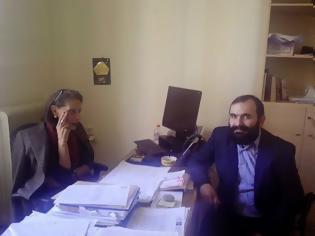 Φωτογραφία για O Κώστας Δαμαβολίτης συναντήθηκε σήμερα με την αντιδήμαρχο πολιτισμού Αριστέα Πλεύρη