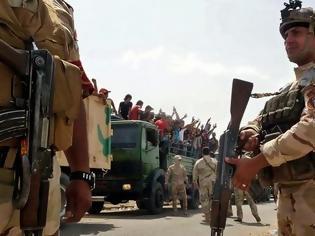 Φωτογραφία για Ιράκ: O στρατός απώθησε τους τζιχαντιστές από την πόλη Μπάιτζι