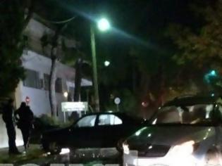 Φωτογραφία για Σύγκρουση οχημάτων στην Τατοΐου [photos]