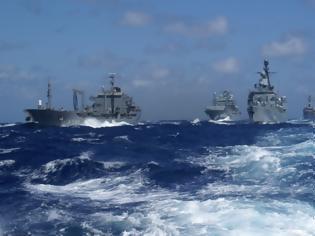 Φωτογραφία για Πολεμικός πυρετός μέσα στη νύχτα - Τουρκικά πολεμικά πλοία γύρω από το Καστελόριζο και την Στρογγύλη!