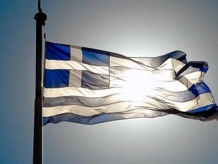 Φωτογραφία για Γιατί η ελληνική σημαία είναι κυανόλευκη και έχει 9 λωρίδες;