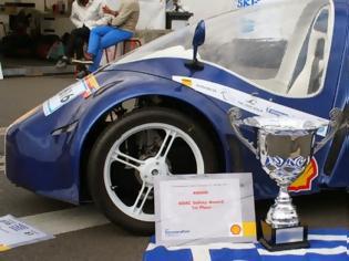 Φωτογραφία για Αυτοκίνητο υδρογόνου με... αποσταγμένο νερό δια χειρός Πολυτεχνείου Κρήτης