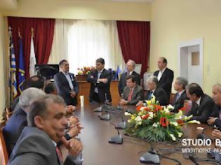 Φωτογραφία για Ο δήμος Άργους υποδέχθηκε με τιμές την αντιπροσωπεία από την Κύπρο