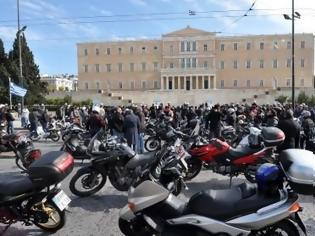 Φωτογραφία για 12 Μαΐου η πορεία των αγανακτισμένων μοτοσικλετών