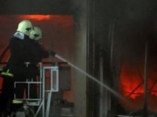 Φωτογραφία για Έπιασε φωτιά κεντρική καφετέρια στη Τρίπολη