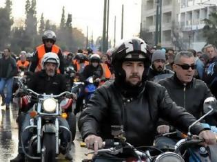 Φωτογραφία για Πορεία διαμαρτυρίας από τους «Αγανακτισμένους Μοτοσυκλετιστές»