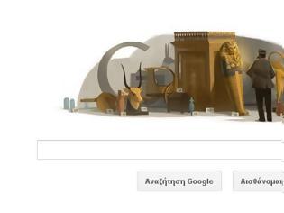 Φωτογραφία για H Google τιμά τον αρχαιολόγο που ανακάλυψε τον τάφο του Τουταγχαμών