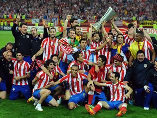 Φωτογραφία για Η Ατλ. Μαδρίτης κατέκτησε το Γιουρόπα Λιγκ