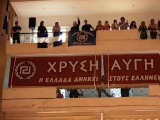 Φωτογραφία για Χρυσή Αυγή : Είμαστε ένα ελληνικό εθνικιστικό κίνημα και οποιαδήποτε άλλη αναφορά θα θεωρείται συκοφαντική και θα απαντάται με αγωγές