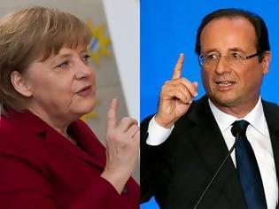 Φωτογραφία για Συνάντηση Merkel – Hollande στις 15 Μαΐου στο Βερολίνο