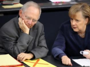 Φωτογραφία για Μέρκελ – Σόιμπλε: Η Ελλάδα να τηρήσει όσα συμφωνήσαμε, αλλιώς… (Video)
