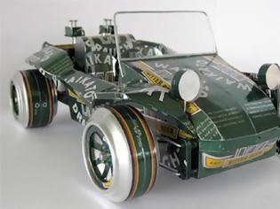 Φωτογραφία για Αυτοκίνητα φτιαγμένα από κουτάκια αναψυκτικών & μπύρας (Photos)