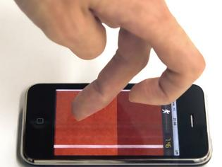 Φωτογραφία για Μια νέα πατέντα για οθόνες χωρίς δαχτυλιές