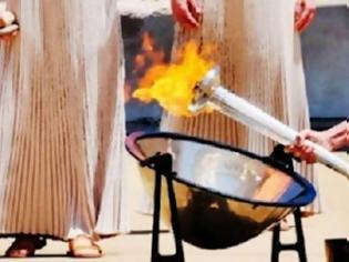 Φωτογραφία για Η Ολυμπιακή Φλόγα στην Κρήτη