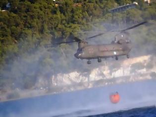 Φωτογραφία για CHINOOK σε κατάσβεση πυρκαγιάς (βίντεο)