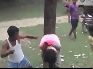 Φωτογραφία για Έπιασαν στα χέρια τους τον επίδοξο βιαστή της κόρης τους και δείτε τι του έκαναν [video]