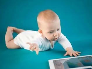 Φωτογραφία για Τάμπλετ η πρώτη λέξη για 1 στα 10 μωρά!