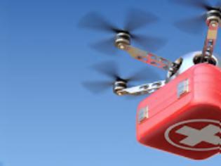 Φωτογραφία για Drone για τη μεταφορά φαρμάκων και βιολογικού υλικού!
