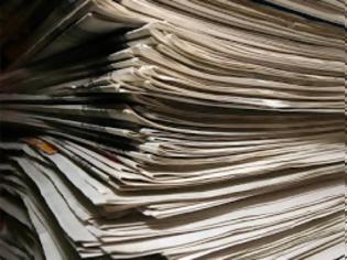 Φωτογραφία για Έτσι μπορείτε να αξιοποιήσετε τις παλιές σας εφημερίδες...