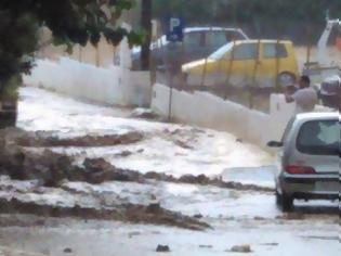 Φωτογραφία για Κατακλυσμός και στην Κρήτη αυγουστιάτικα! [video]
