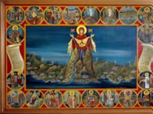 Φωτογραφία για 6929 - Η Παναγία και οι Άγιοι του Άθωνα