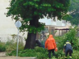 Φωτογραφία για ΙΩΑΝΝΙΝΑ: Στα όρια της Βιβλικής ΚΑΤΑΣΤΡΟΦΗΣ - Ευτυχώς που δεν περνούσε αυτοκίνητο  [photo]
