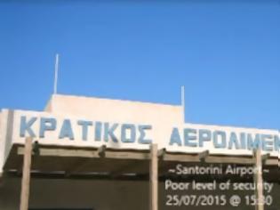 Φωτογραφία για Απίστευτη καταγγελία τουρίστριας για το αεροδρόμιο Σαντορίνης [video]
