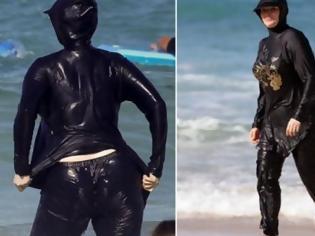 Φωτογραφία για Τί τραβάνε οι γυναίκες! Δείτε τα μαγιό που φορούν οι Μουσουλμάνες