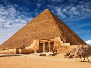 Φωτογραφία για Αποκαλύφθηκε το μυστικό της μεγάλης πυραμίδας του Χέοπα... [photo+video]