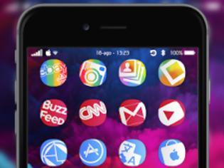 Φωτογραφία για Zoomy iOS 8 (Tykology) ......Ένα θέμα για το iphone σας
