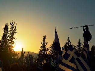 Φωτογραφία για Τελετή Τιμής και Μνήμης της Χρυσής Αυγής για την μάχη των Θερμοπυλών [photos]