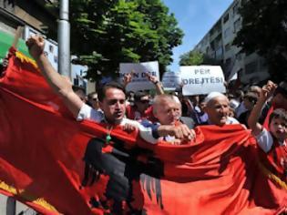 Φωτογραφία για ΠΓΔΜ: Διαδηλώσεις Αλβανών για συλλήψεις ομοεθνών τους