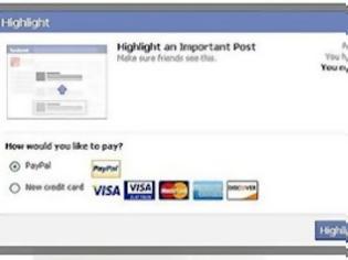 Φωτογραφία για Χρεώσεις στα status updates ξεκινά το Facebook