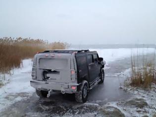 Φωτογραφία για Δείτε τί έπαθε αυτό το Hummer...Αφέλεια; Υπερεκτίμηση δυνατοτήτων; Αυτοπροβολή! Κρατήστε αυτό που εσείς πιστεύετε! ( PICS)