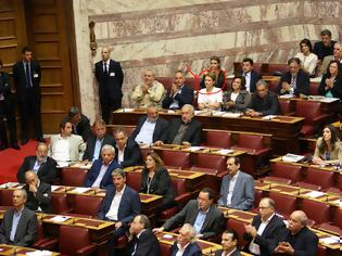Φωτογραφία για Αποχώρησε η κ. Ρεπούση όταν τηρήθηκε ενός λεπτού σιγή στη μνήμη των θυμάτων της Γενοκτονίας των Ελλήνων του Πόντου!