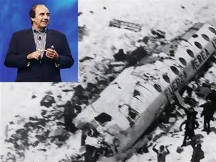 Φωτογραφία για O Nando Parrado, ένας από τους 16 επιζώντες στις Ανδεις το 1972, μιλά στο «ΒΗΜΑ» «Ψηφίστε αυτόν που αγαπά την Ελλάδα περισσότερο από τον εαυτό του»