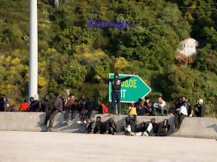Φωτογραφία για Κυνηγητό αστυνομίας και λαθρομεταναστών μέσα στο δάσος της Ηγουμενίτσας!